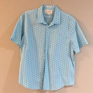 Penguin Brand, Short sleeve button up, XXL